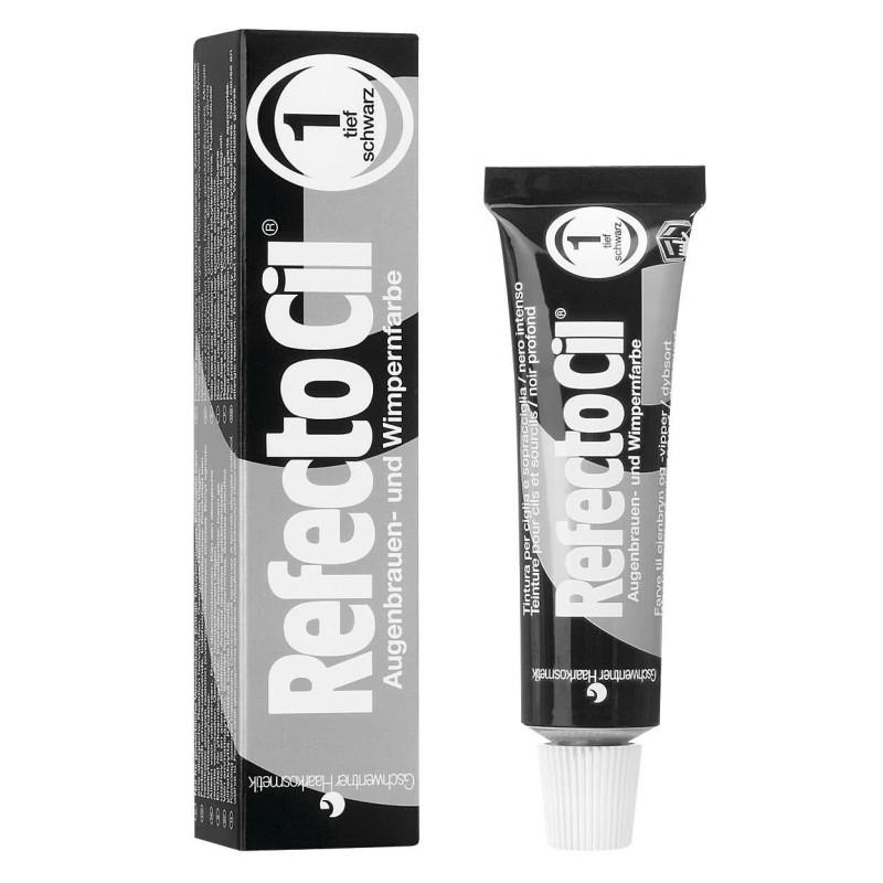 Refectocil tinte pestañas nº1 negro intenso 15 ml