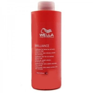 Wella care brilliance acondicionador color fino/normal 1000ml