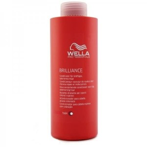 Wella care brilliance acondicionador color gruesos 1000ml