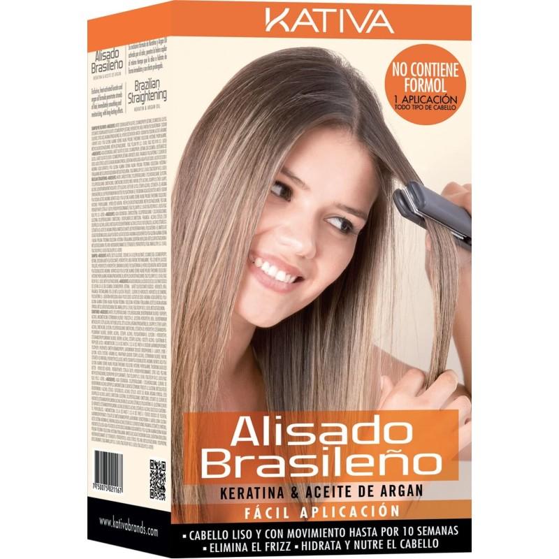 Imagen de Kativa kit de alisado brasileño Cabellos