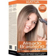 Kativa kit de alisado brasileño Cabellos Claros