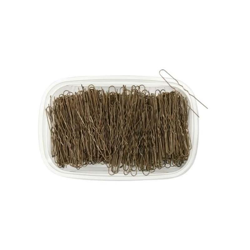 Tarrina horquillas invisible mini rubio 800u