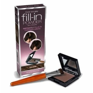 Fill In Powder cubre zonas despobladas Marron