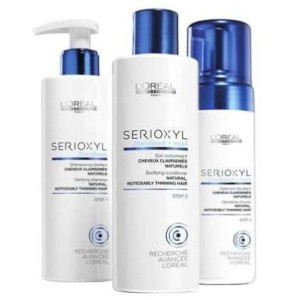 Serioxyl Fuller Hair Kit 1 - cabello natural
