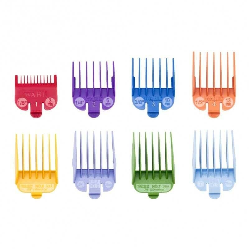 Imagen de Pack de 8 peines Wahl de corte plástico