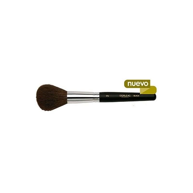 Imagen de Pincel-brocha para polvos redondo d'orleac black tw-02