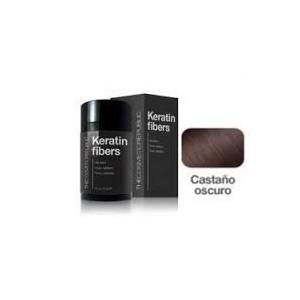 Keratin Fibers Castaño Oscuro 12.5gr + Mist Fiberhol Spray 60ml De Regalo