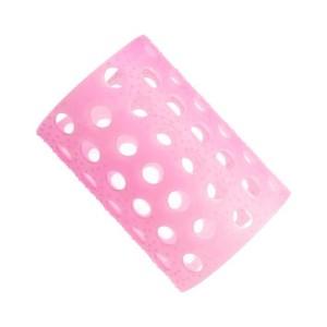Rulo rosa translucido nº6 Bolsa 12 uds