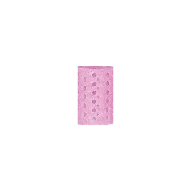 Rulo rosa translucido nº7 Bolsa 12 uds