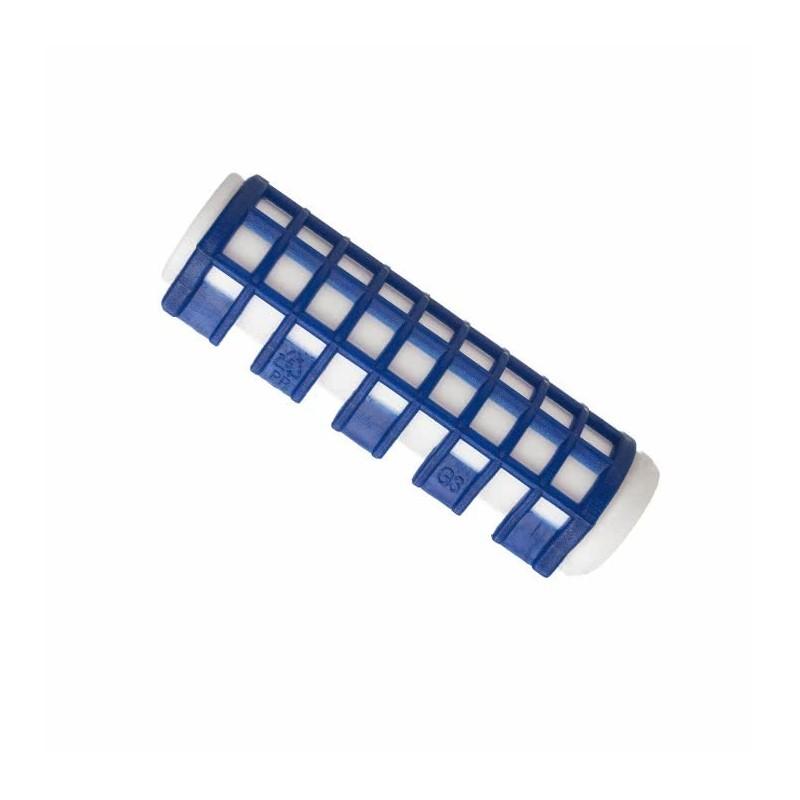 Imagen de Rulos calientes pequeños azul Bolsa 6uds