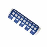 Rulos Calientes Pequeños Azul 17mm Eurostil 6ud