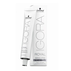 Tinte Igora Royal Absolutes Silverwhite Gris Pizarra 60ml