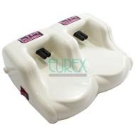 Base calentador roll-on doble + 2 Calentadores Pro Lim Wax 1
