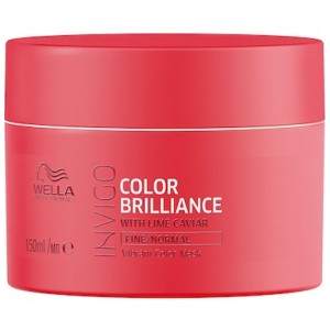 Mascarilla Color Brilliance Color Finos/Normales Wella 500ml