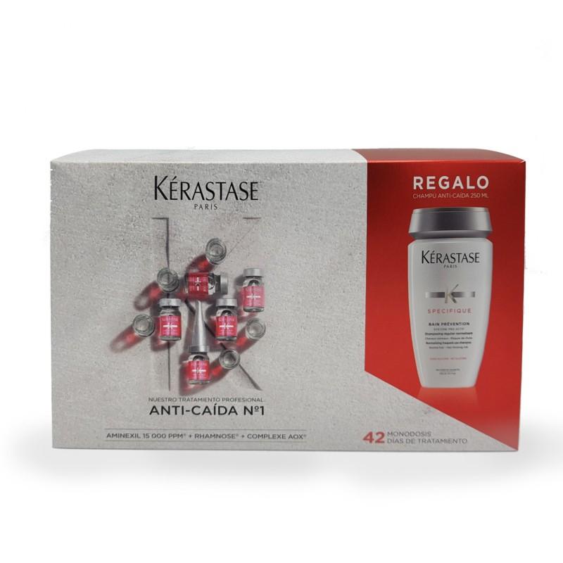 Imagen de Kerastase Specifique Aminexil Anti-Caida 42ud + champú