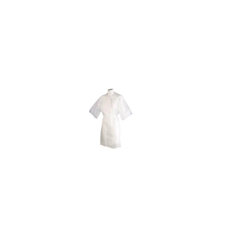 Imagen de Kimono Blanco Desechable Giubra