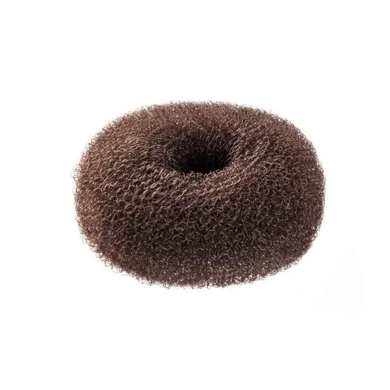 Imagen de Relleno moño circular castaño oscuro