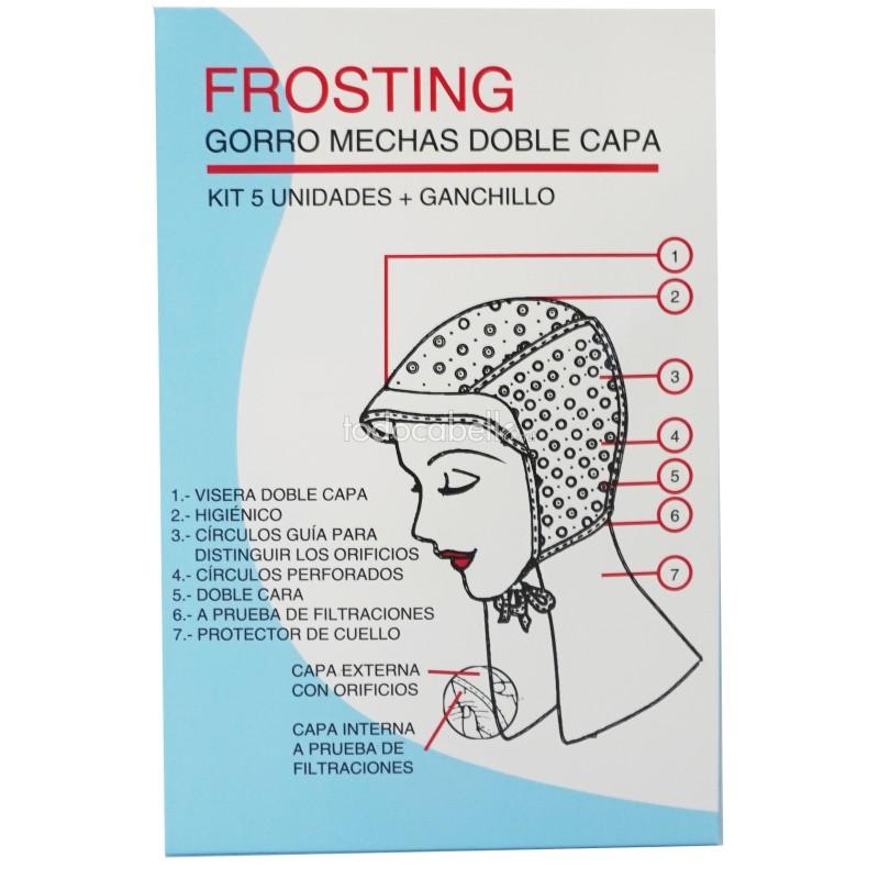 Imagen de Kit Gorros Mechas Frosting Fama Fabré 5ud