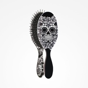 Cepillo Wet Brush-Pro Oval Sugar Skull White