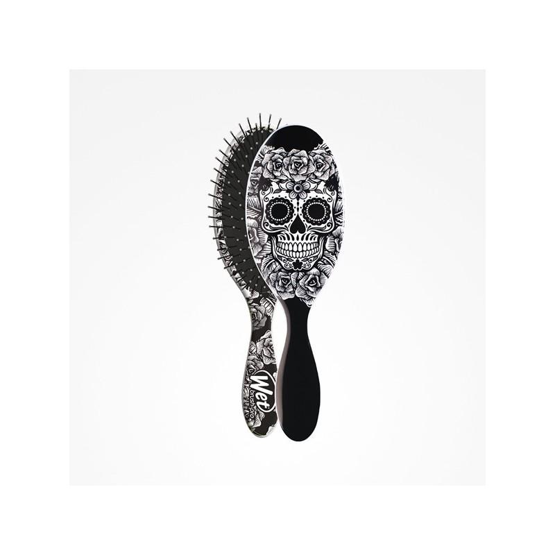 Imagen de Cepillo Wet Brush-Pro Oval Sugar Skull White Perfect Beauty
