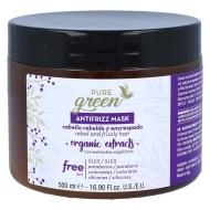 Mascarilla Antifrizz Pure Green 500ml