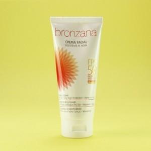 Crema Facial Bronzana Protectora SPF 50 75ml