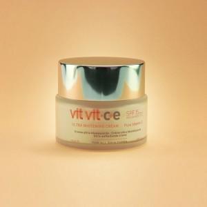 Crema Facial Blanqueadora VIT VIT Protectora SPF 15 Diet Esthetic 50ml