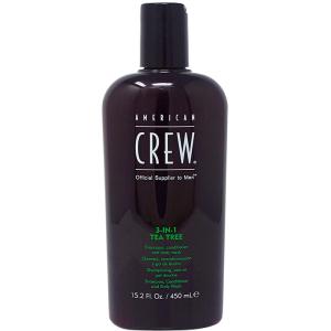 American Crew 3 en 1 Tea Tree 450ml