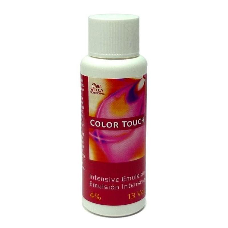 Imagen de Emulsión Color Touch Wella Intensiva 4% 13vol 60ml