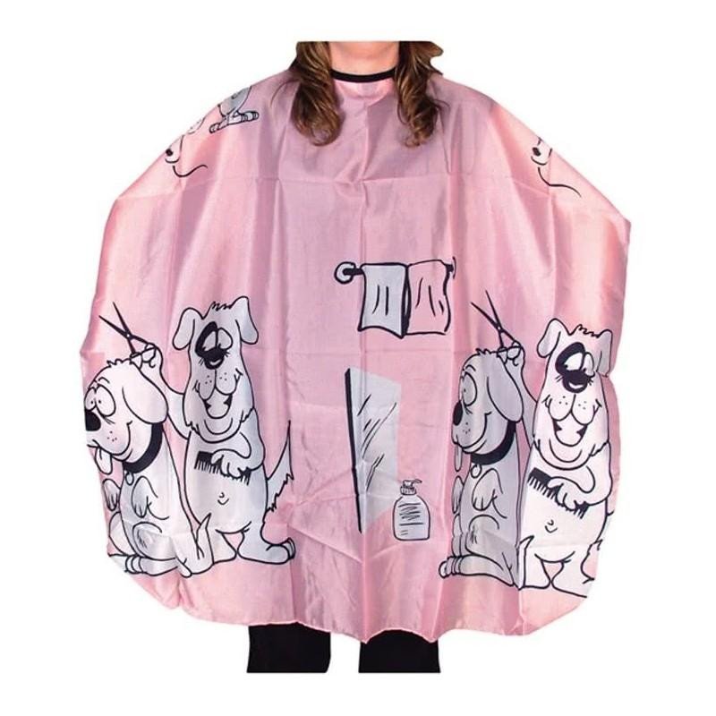 Imagen de Capa de corte infantil color rosa