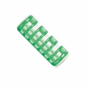 Rulos calientes medianos verde Bolsa 6 uds