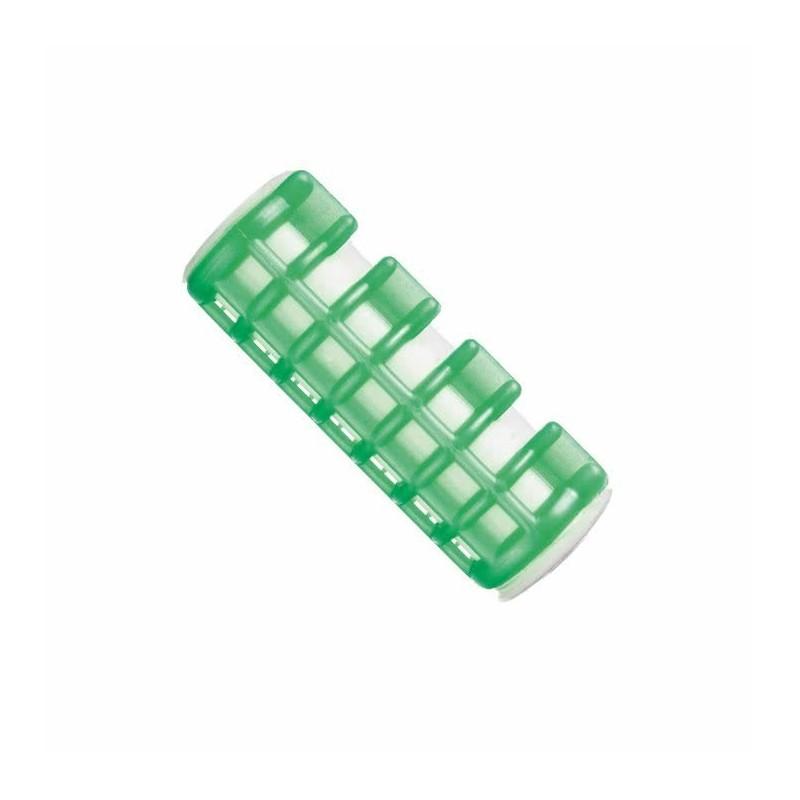 Imagen de Rulos calientes medianos verde bolsa 6uds