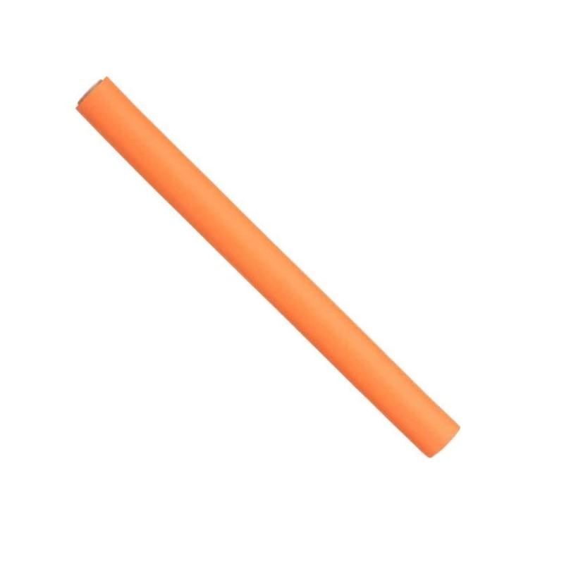 Papillots cortos naranjas 17