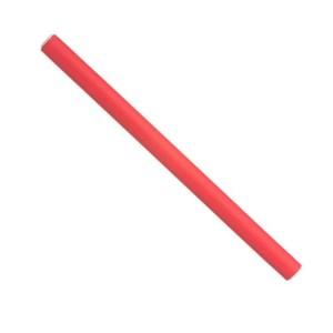 Papillots cortos rojos 17,5x1,2 Bolsa 12uds