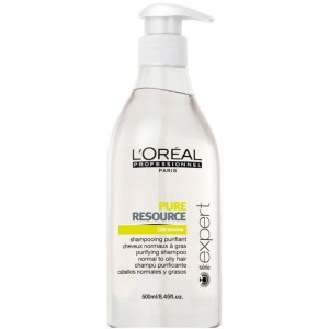 Champú Pure Resource Expert Loreal 500ml
