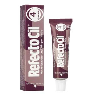 Refectocil tinte pestañas nº4 castaño 15 ml