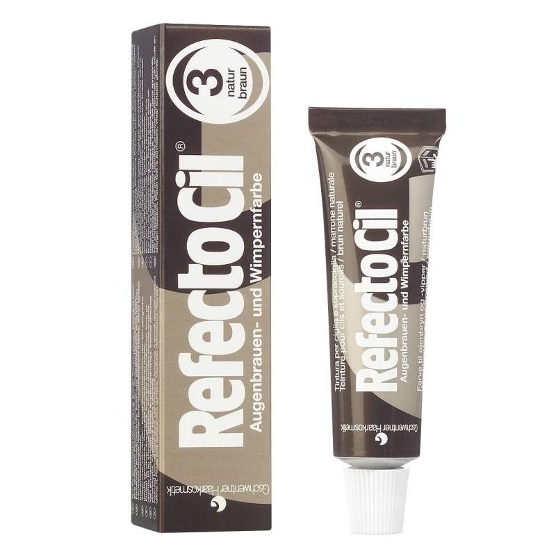 Refectocil tinte pestañas nº3 marron natural 15 ml