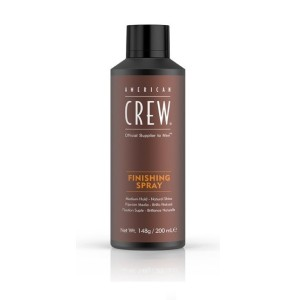 Laca Finish Spray Brillo Natural American Crew 200ml