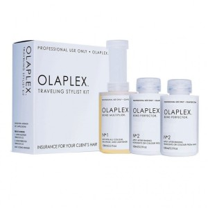 OLAPLEX TRAVELING STYLIST KIT 1 nº1 y 2 Nº2  X 100ml