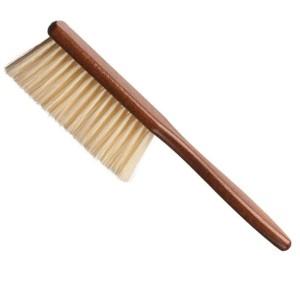 Cepillo cuello barbero mango madera Eurostil
