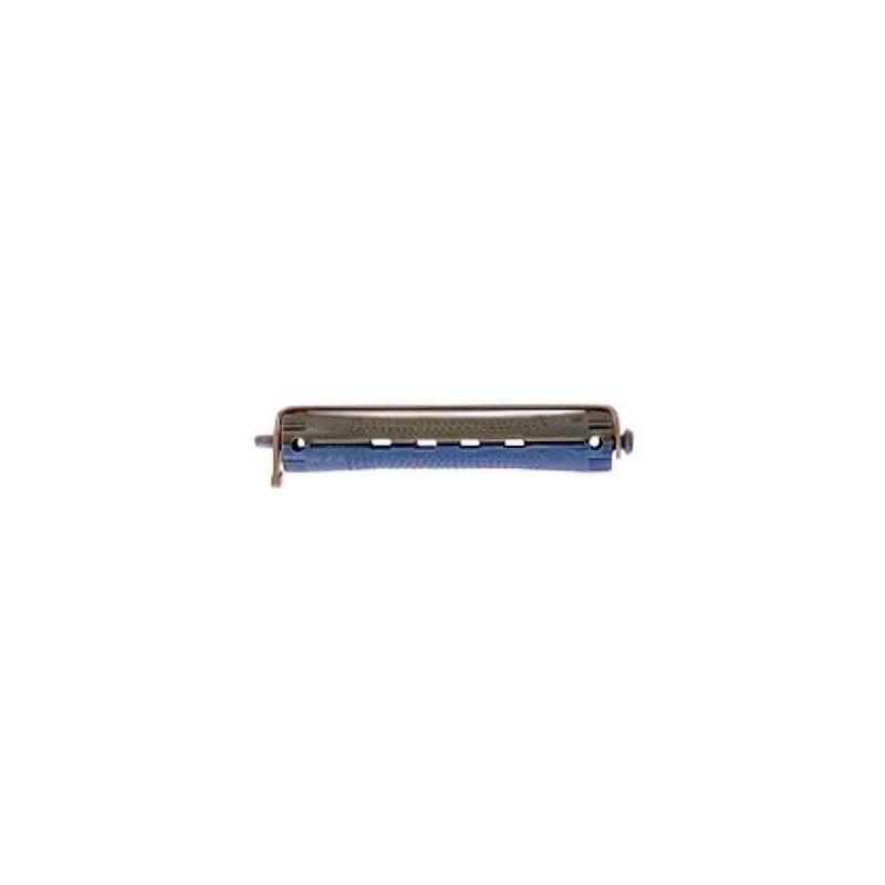 Bigudi plastico largo nº2 gris-azul (bolsa 12 u.)