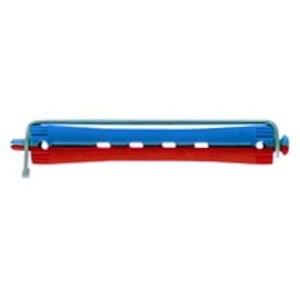 Bigudi plastico largo nº3 azul-rojo (bolsa 12 u.)