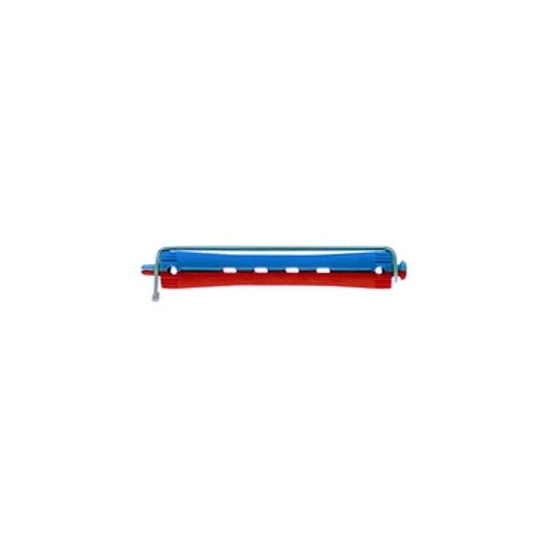 Imagen de Bigudi plástico largo nº3 azul-rojo 12ud