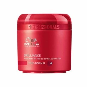 Wella care brilliance mascarilla color finos/normales 150ml
