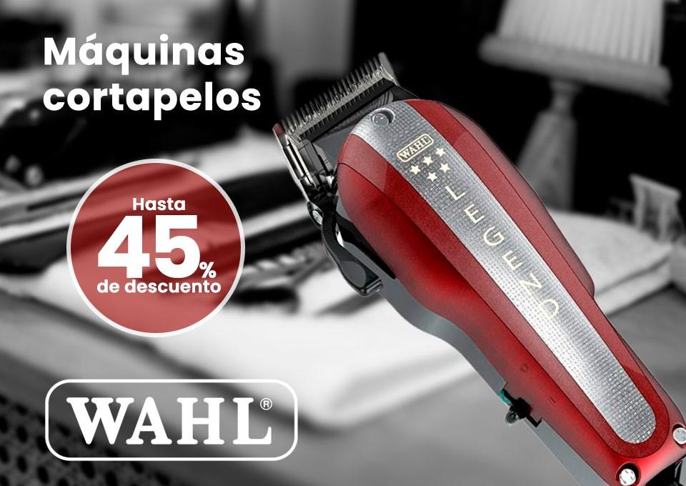 Máquinas cortapelos marca wahl. Hasta 50% de descuento